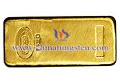 tungsteno placcata in oro