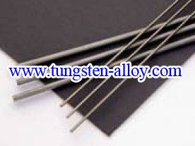 tungsten alloy rod added mo