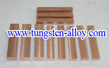 tungsten copper bar picture