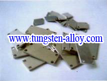 tungsten copper alloy heat spreader