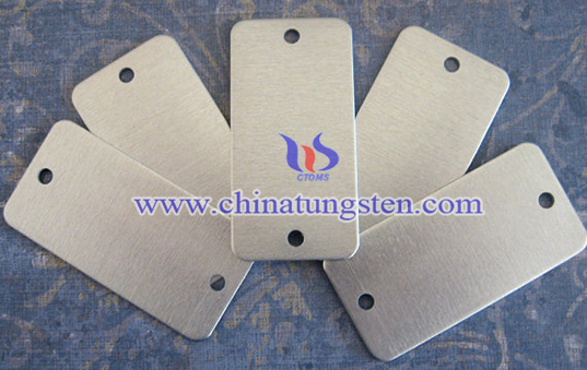 blank tungsten ID tag image