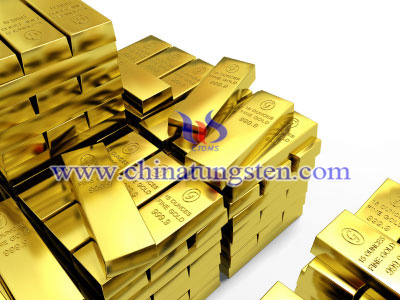 tungsten alloy gold bullion