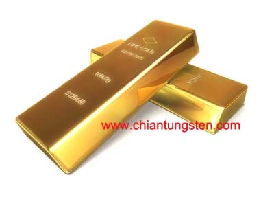tungsten golden bar