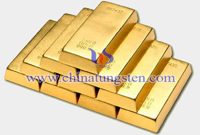 tungsten gold plate