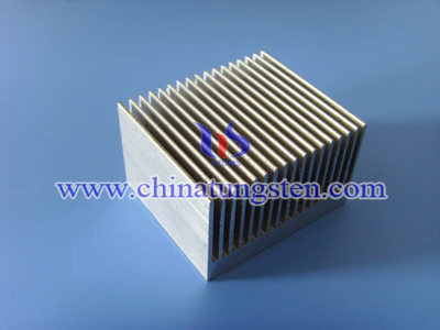 tungsten alloy heat sink picture