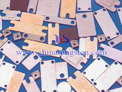 tungsten copper ultra thin sheet picture