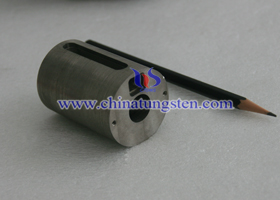 Industrial instrument explore tungsten radiation protection