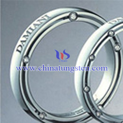 tungsten alloy necklace