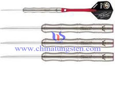 вольфраму сталевим наконечником дротика
