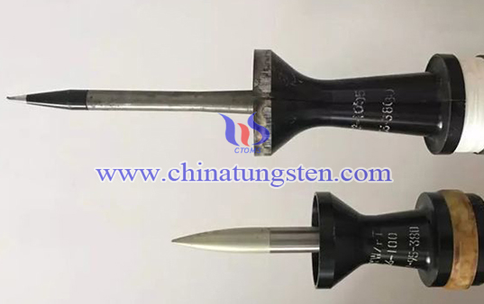 tungsten alloy rod armour-piercing bullet image