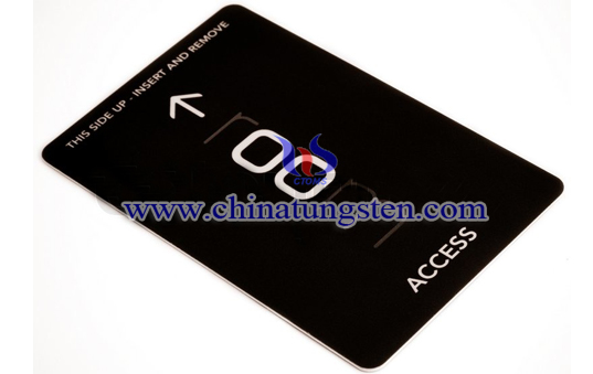 tungsten access card image