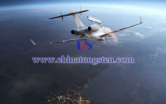 tungsten alloy balance for aircraft image