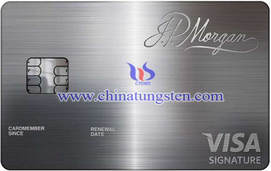 tungsten alloy card image