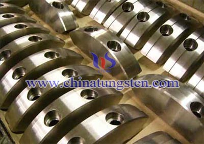 tungsten alloy crankshafts