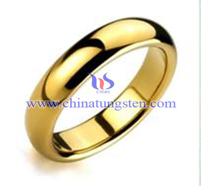 tungsten fake gold jewelry