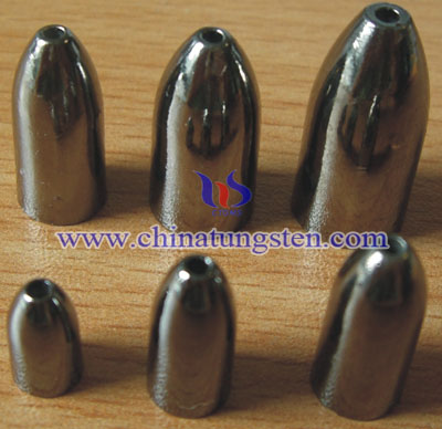 tungsten alloy fishing sinkers