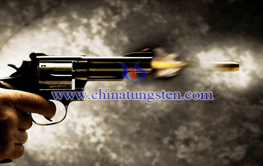 tungsten alloy gunshot bullet core image
