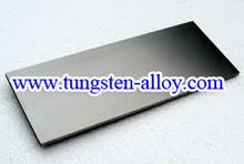 tungsten alloy sheet