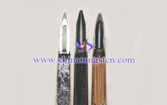 tungsten alloy kinetic energy armour-piercing bullet image