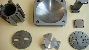 tungsten alloy military components