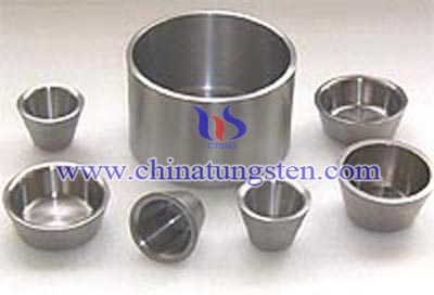 tungsten alloy military crucible