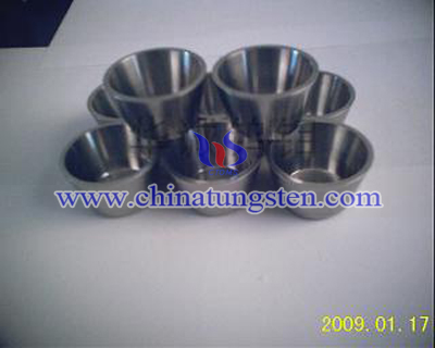 tungsten alloy military crucibles