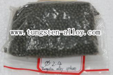 tungsten alloy military spheres