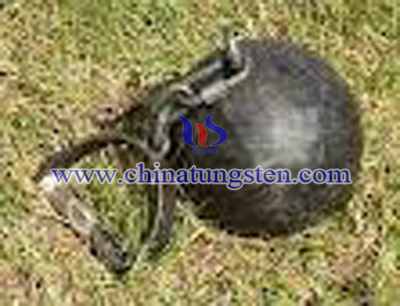 tungsten alloy weight throw