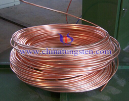 tungsten copper alloy wire picture
