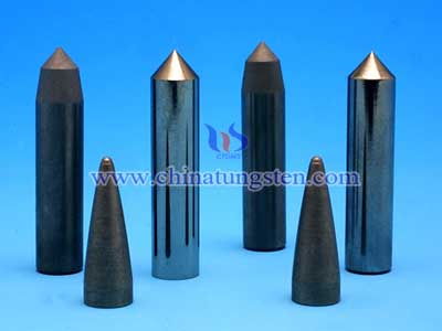tungsten ammunition core
