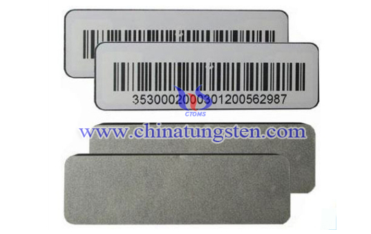 tungsten barcode tag image