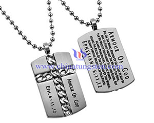 tungsten christian god tag image