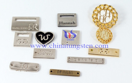 tungsten clothing label image