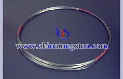 tungsten heavy alloy coil