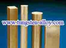 tungsten copper alloy bar picture