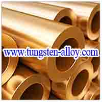tungsten copper alloy tube picture