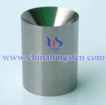 tungsten funnel shielding