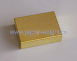 tungsten gold-plated paperweight