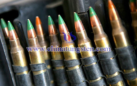 tungsten heavy alloy armour-piercing bullet image