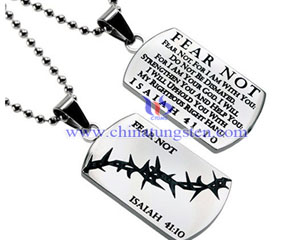 tungsten military god tag image