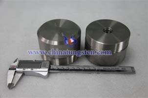 tungsten radiation protective tank