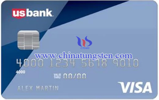tungsten secured card image