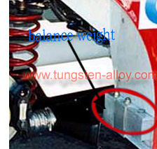 tungsten vehicle ballast-1