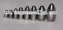tungsten alloy bullet fishing weights