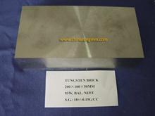 Tungsten Alloy Counterweight