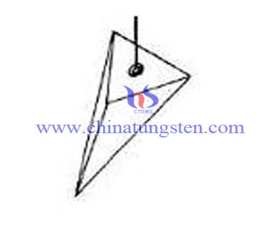 3-х сторін піраміди грузило
