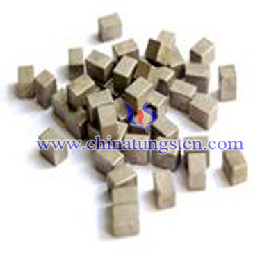 Tungsten Alloy Cube for Military